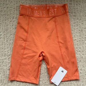HOLD CYCLING SHORTS-Burnt Orange